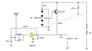 Radio Langsung dg 1 transistor